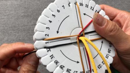 C4薇光手绳教程对于锦鲤手绳的延伸教学 盘编其实很简单芊巧手绳
