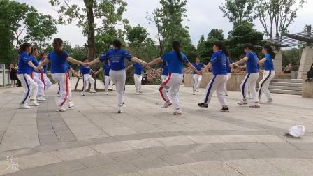 会昌麻州广场舞(欢乐的海洋)圈圈舞