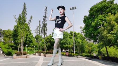 零基础64步火爆网红健身舞DJ《活着》好听韩曲 外景拍摄