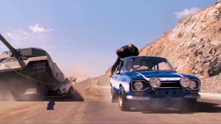 当美式肌肉车遇上光头硬汉,秒杀坦克什么的就是小意思啦~