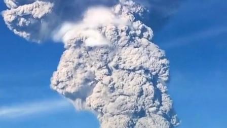 国外火山奇景这是幻觉吗