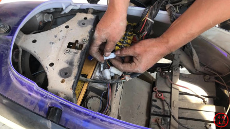 为什么这辆电动车,在其它地方没有修好?看老师傅是怎么排除故障