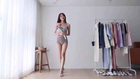 韩国美女小姐姐现场试衣!