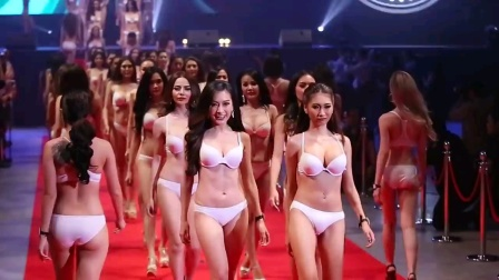 泰国美女模特内衣走秀