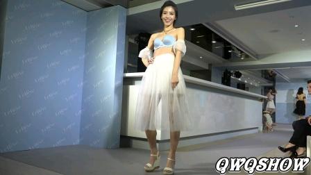 美女模特性感时尚内衣秀
