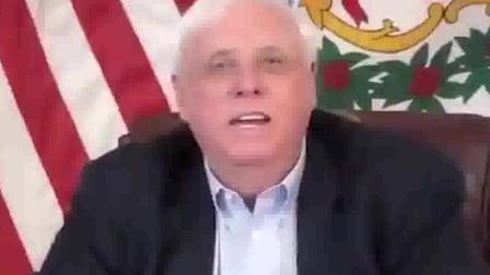 美国一州长疫情发布会时骂脏话 事后的解释让人笑掉大牙