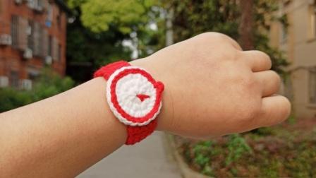 钩针编织毛线手表手环装饰送情侣同学闺蜜礼物