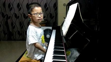 邱意扬(6岁4个月)弹奏《f小调练习曲(OP.25 No.2)》肖邦 曲