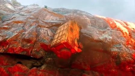 天火:众人为救村民,却意外被岩浆包围,掉入悬崖