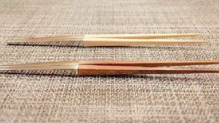 美国夫妇发现筷子缺点,改造后卖出40万套,网友:改的好!