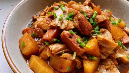 不用炒糖色的五花肉,3分钟学会,肥而不腻特下饭,1斤米饭不够吃