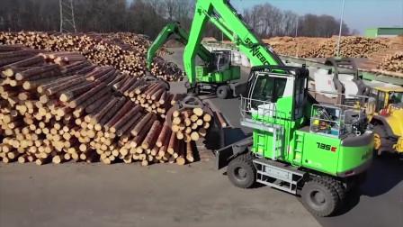 又是德国制造的木材机械!看完不得不承认,德国技术的先进啊
