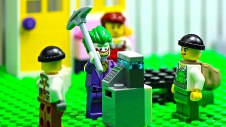 乐高小丑 强盗-乐高市警察局