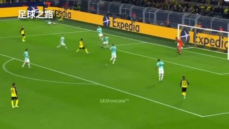 足球欣赏丨汉达诺维奇:让对手无奈的扑救