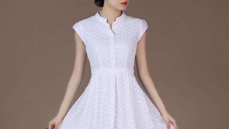 绘制连衣摆裙的裁剪图原来如此简单,学这几个简单步骤,轻松画出