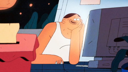 世上最后一个男人,独自坐在屋内,突然传来敲门声