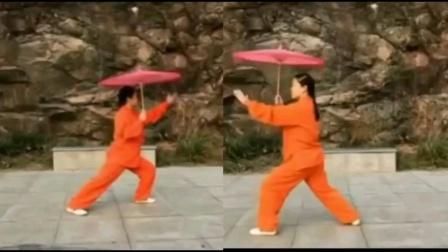 雨中太极伞(正背合一)