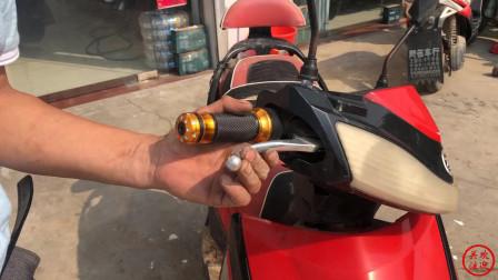电动车刹车不灵是换还是维修?调整一个小螺丝,效果比新的还好
