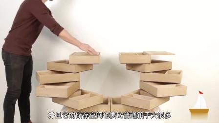 6款节省空间的创意家居,所有家具都能变形,第2个衣柜有趣又实用