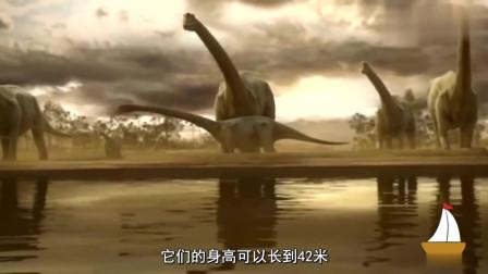 6个世界上存在过的史前巨兽,第4可以长到42米高,相当于14层楼