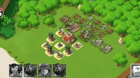胖虎游戏:海岛奇兵挑战比自己高5级的对手,最后时刻遭敌人剿灭!