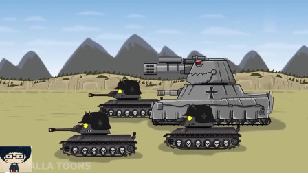 坦克世界动画:KV22的首秀之旅!是被摧毁还是摧毁敌军?
