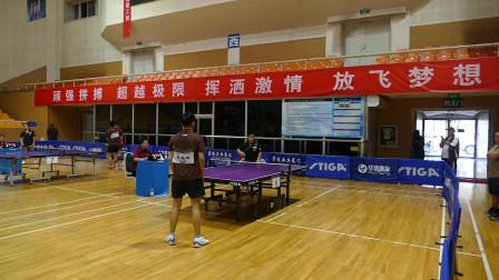 公开组16进8_海淀少年队(王彬宇) vs 国美家园队(侯伯远)_2018年第十四届STIGA杯全国乒乓球巡回赛北京赛区