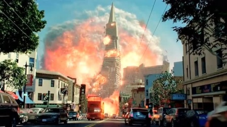 全程高能电影中的核爆片段,希望永远不会发生
