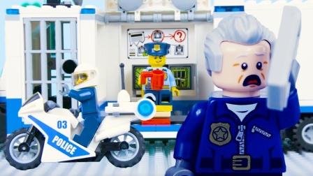 乐高城市警察停止运动乐高警察汇编#最好抓骗子#由比利·布里克斯.