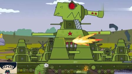坦克世界动画:大反攻的开始!德系马奇诺防线上谁的要塞炮
