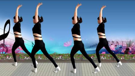 背面带你跳《燃脂瘦身操》三分钟学会,舞出健康美丽.mp4