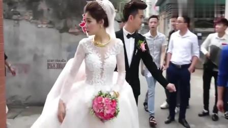 贵州农村帅哥接亲,新娘才刚满23岁,长得真的漂亮!