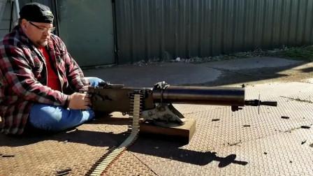 这挺机枪曾被广泛使用:MG08德国马克沁重机枪,可靠性极高
