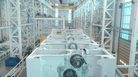 德国品质,中国制造 - 现代化压力机设备生产工厂 (舒勒大连)