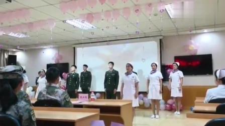 部队医院的护士节是如何度过的,很可爱!