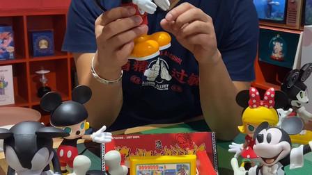 童年的回忆红白游戏机潮玩,联名迪士尼,满满的回忆杀。