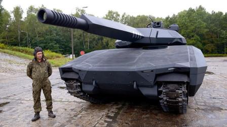 坦克中的歼20?全球首款隐身坦克悄然亮相,美俄看后直言很羡慕