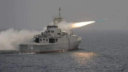 """伊朗演戏出""""乌龙"""":导弹击中自家军舰"""