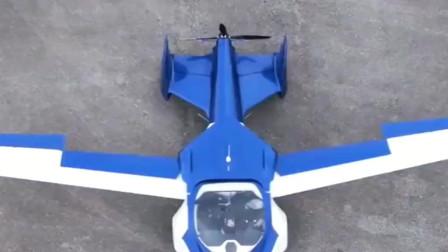 牛人发明:美国牛人发明飞行汽车,来见识一下这车的风采吧