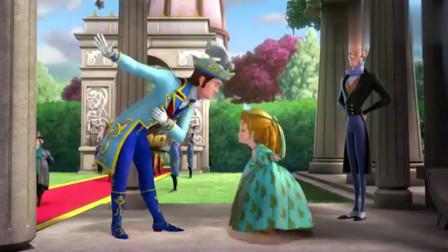 小公主苏菲亚 安柏各个国家的问候礼仪全学会,詹姆士表示不相信