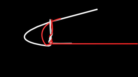 简单的路亚前导线绑法,高清3D详细动画绑法教程,关键牢固绑得快