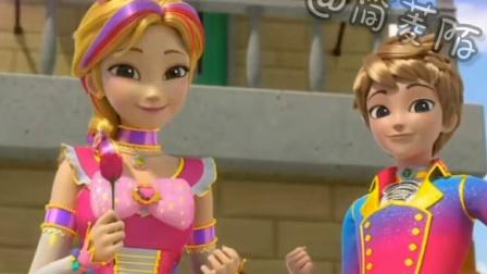 《苏菲露比》苏菲和斯比奈将鲜花送给镇上的居民,大家都开心地跳起了舞来~^V^^V^^V^^V^