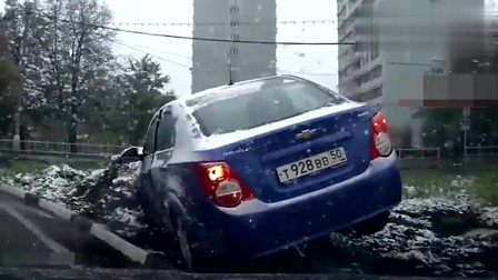 监控:惨烈的车祸,不死几个人是不长记性了