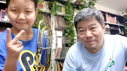 hzp:李昊泽长号……澳大利亚民歌…2020.5.18