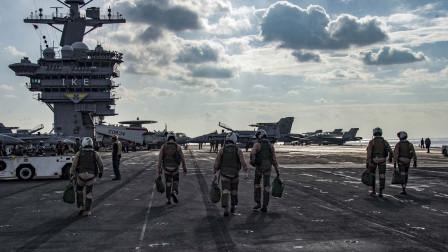 豁出去了!美海军不顾疫情,再次出海!