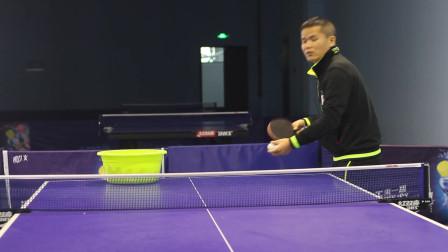 黄河教练教你打乒乓第2集:侧下旋球的掌握