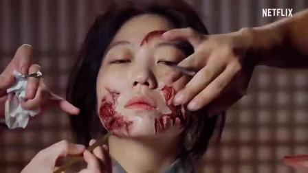 韩国萌妹子如果变成古代丧尸的?王国化妆特辑