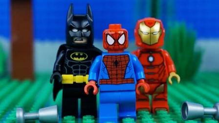 乐高超级英雄停止运动乐高漫威 编译#乐高超级英雄#作者比利·布里克。