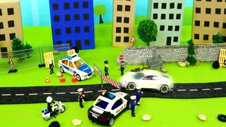 儿童玩具车视频 警车抓捕坏人.mp4