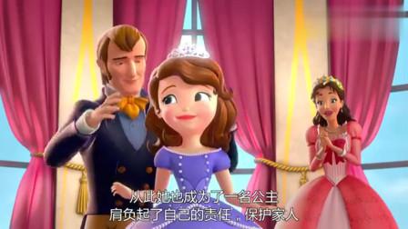 小公主苏菲亚 原来苏菲亚是这么来到王国,成为公主的!